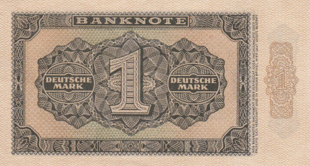 Germany DDR Paper Money 1 Mark 1948